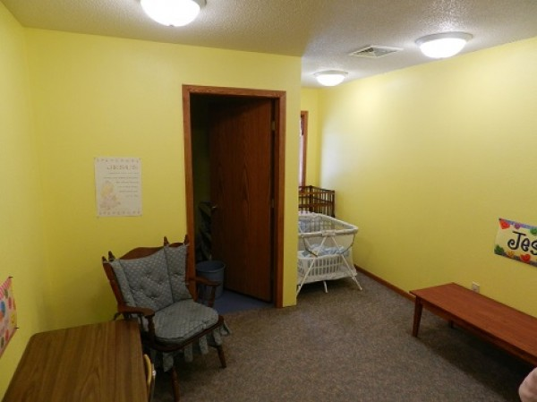 This is a picture of the cry room.